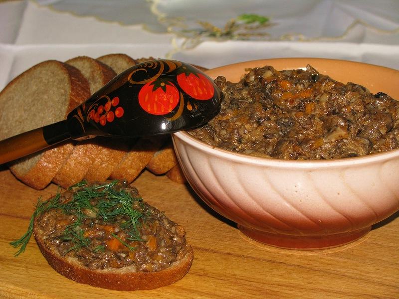 Как в домашних условиях приготовить грибную икру из свежих грибов